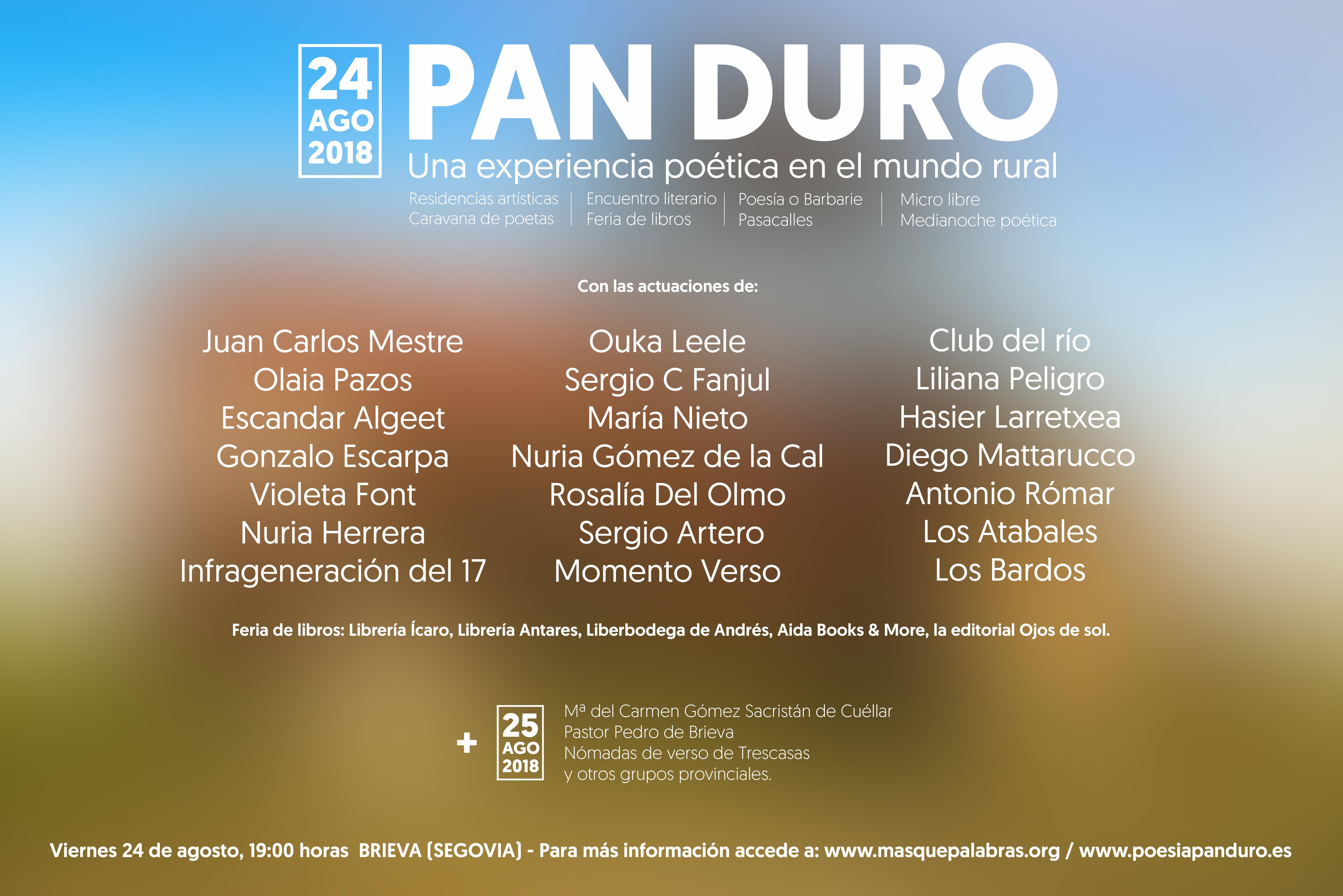 Pan Duro 2018